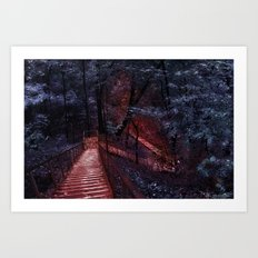 Welcome to the dream Art Print