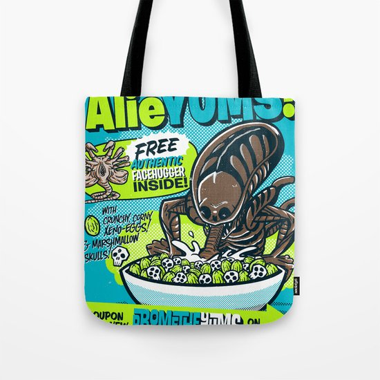 AlieYUMS! (blue variant) Tote Bag