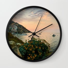 Hamilton Cove, Catalina Island Wall Clock