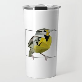 Wyoming – Western Meadowlark Travel Mug