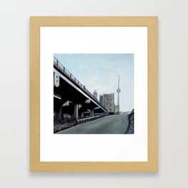 Lower Jarvis Skyline Framed Art Print