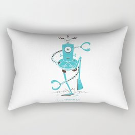 I is for Ironman Rectangular Pillow