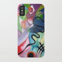 kandinsky iPhone & iPod Cases featuring KANDINSKY - oil painting by Heaven7