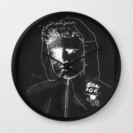 BERTIE GILBERT - stray dog Wall Clock
