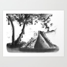 Alluding Title Art Print