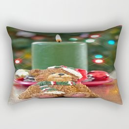 Little Bears Christmas Rectangular Pillow