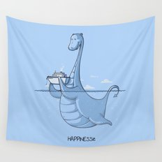 HAPPINESSie Wall Tapestry