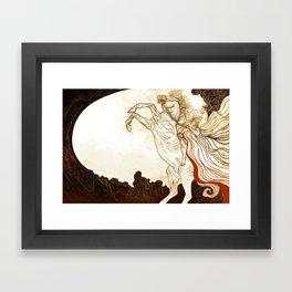 Faithful and True Framed Art Print
