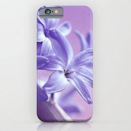 Hyacinth violet 064 iPhone Case
