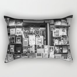 Italian Bookshop Rectangular Pillow