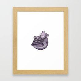 Koala Bear Love  Framed Art Print