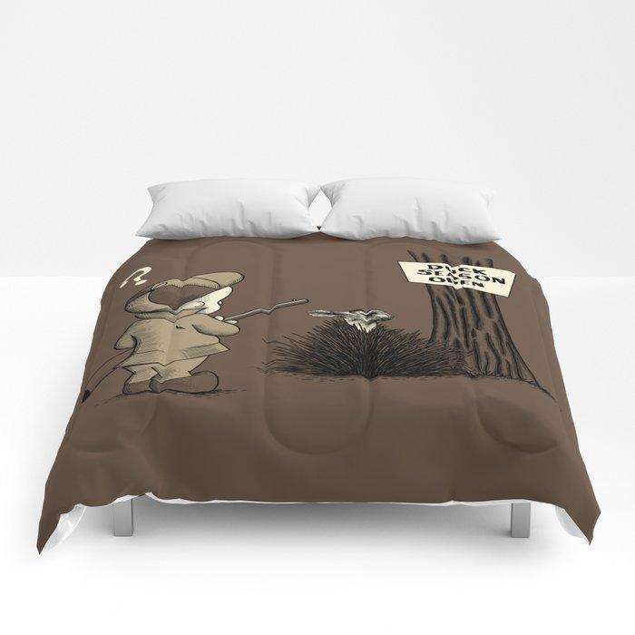 Duck or rabbit? Comforters