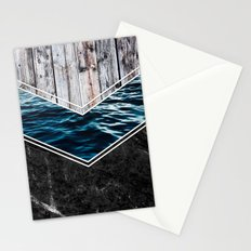 Striped Materials of Nature IV Stationery Cards