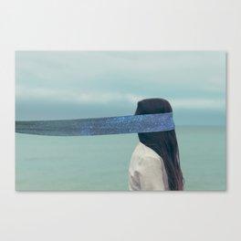 Solar wind. Canvas Print
