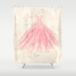 Butterfly Dance Shower Curtain