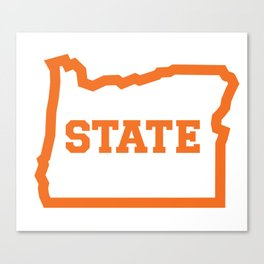 OSTATE Orange Canvas Print