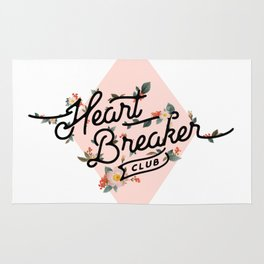 The Heart Breaker Club Rug