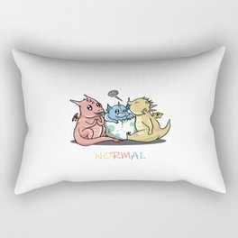 Magical Dragons Autism Awareness Day Autistic Gift Rectangular Pillow