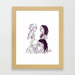 Spidey!Cosima 2 Framed Art Print