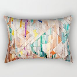 Pastel Tile Mosiac 1 Rectangular Pillow