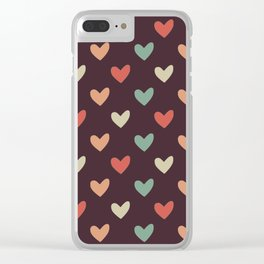 Love candy Clear iPhone Case