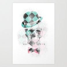 LDN Skull Art Print