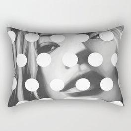 Kate Moss x Dots by Moe Notsu Rectangular Pillow