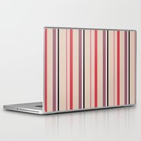 stripe Laptop & iPad Skins featuring Stripe by Tayler Willcox