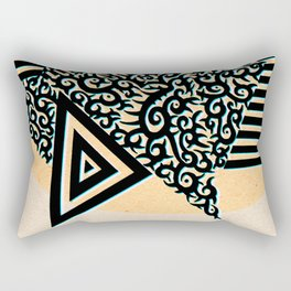 - confess - Rectangular Pillow
