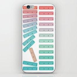 Break the Rulers iPhone Skin