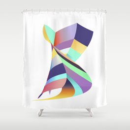 Possible No. 1 Shower Curtain