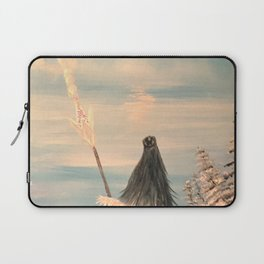 Atlantean Priestess Laptop Sleeve
