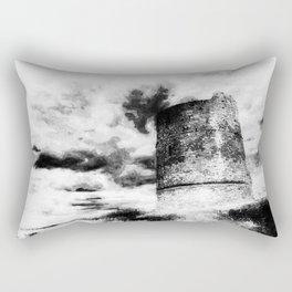 The Haunted Castle Rectangular Pillow