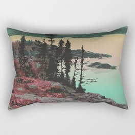 Pukaskwa National Park Rectangular Pillow