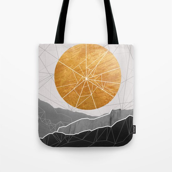 Shattered Sun Tote Bag