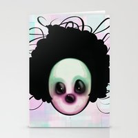 clown Stationery Cards featuring CLOWN by Andy Fairhurst Art