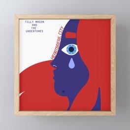 Tilly Mason and The Undertones Framed Mini Art Print