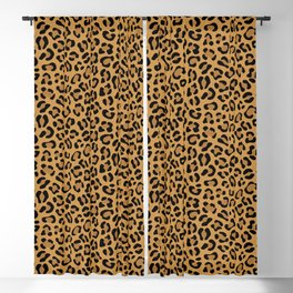 Leopard Prints Blackout Curtain