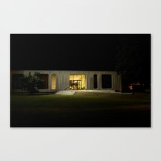 Building at Night Canvas Print