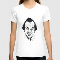 jack nicholson T-shirts featuring Jack Nicholson by Giorgia Ruggeri