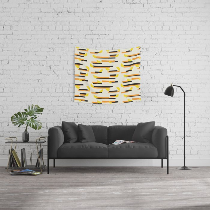 Fresh Lime Wall Tapestry