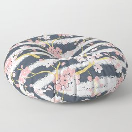peach blossom Floor Pillow