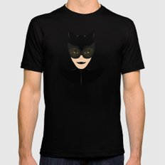 Catwoman Mens Fitted Tee Black MEDIUM