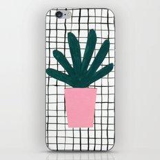 Plant Pot iPhone & iPod Skin