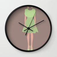 marc johns Wall Clocks featuring Marc Jacobs Aesthetic by Salmanorguk