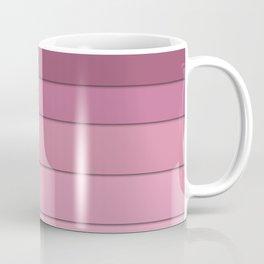 Colorful geometric pattern in shades of pink . Coffee Mug