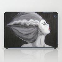 bride iPad Cases featuring Bride by October James