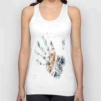 fringe Tank Tops featuring Fringe by D77 The DigArtisT