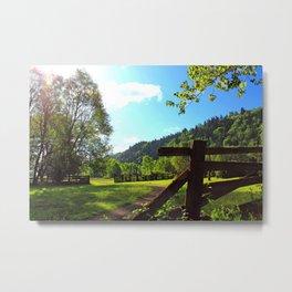 Sandy River Delta Park - Spring Metal Print