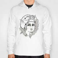 sweden Hoodies featuring Christina of Sweden by Adrienne S. Price